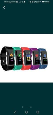 Smartband, zegarek cyfrowy fitness OLED wysyłka