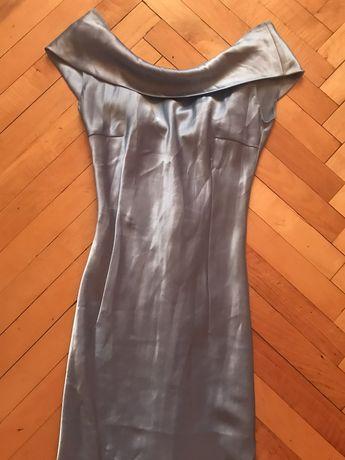 Платье плаття атласне