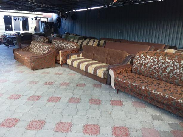 Перетяжка и ремонт мягкой мебели,обмен,продажа новой и б/у мебели