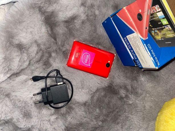 Nokia Asha 503 Czerwona