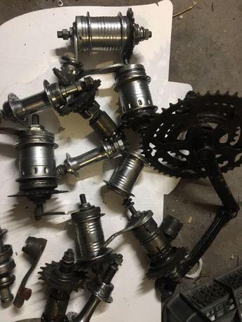 Akcesoria rowerowe przeżytki pedała itp