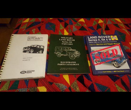 Land Rover - Livros e manuais técnicos