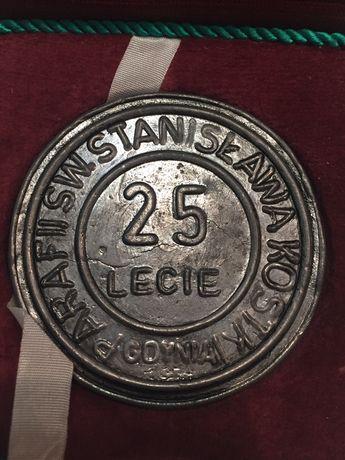 Medal 25 lecie parafii Sw. Stanislawa Kostki