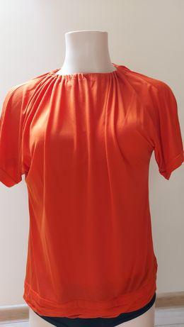 Bluzka ciemny pomarańcz Zara L