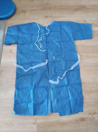 Nowa koszula jednorazowa do operacji/ porodu