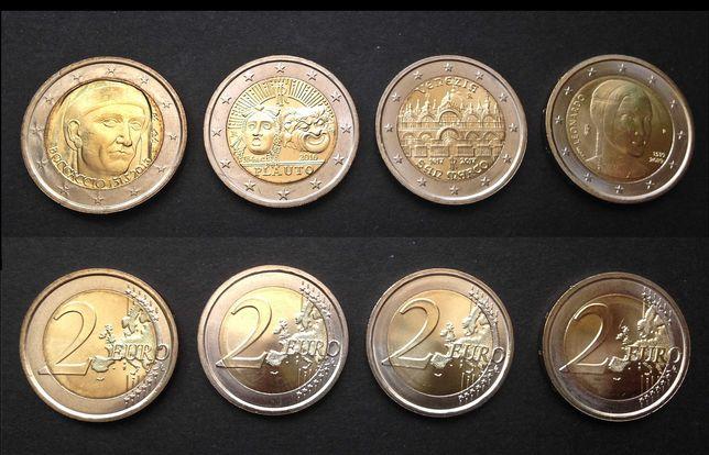 Comemorativas - 2 euro - Itália, Eslovénia, Estónia, Finlândia, França