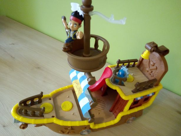 Fisher Price statek piracki Jake i piraci z Nibylandii