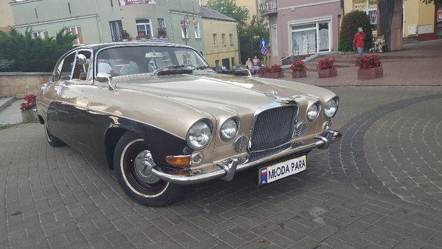 Jaguar MK X/420 zabytkowy - największy w historii z Jaguarów do ślubu
