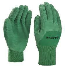 Rękawice ogrodowe lateks, bawełna Rozmiar L/ Euro 9