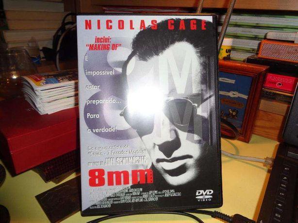 Dvd Nicolas Cage 8mm rigorosamente nôvo