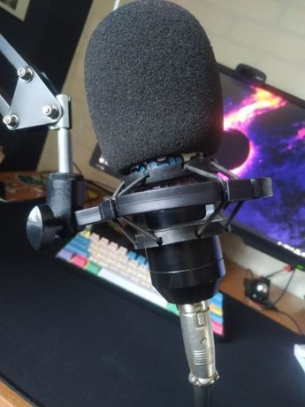 Mikrofon Pojemnnościowy Wraz ze Statywem