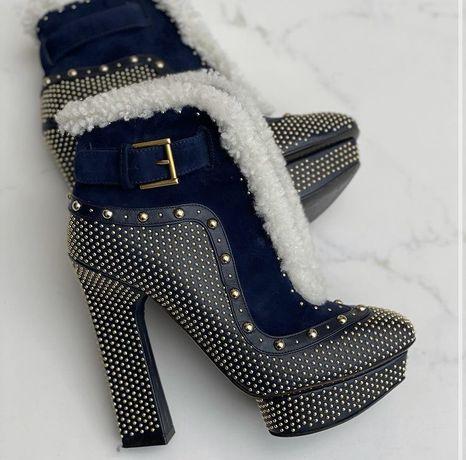 ботинки alexander McQueen оригинал 35,5