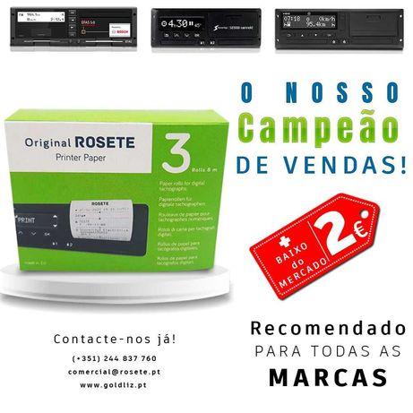 Caixa Rolos Papel Tacógrafos | OPORTUNIDADE