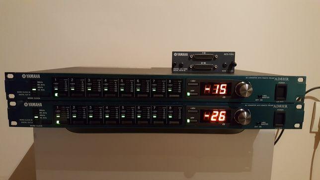 2x Yamaha ad8hr + karta my16-ae AES/EBU ls9 m7cl behringer ada8000