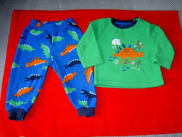 Piżamka z polaru dla chłopca 6-12 miesięcy (rozmiar 80)