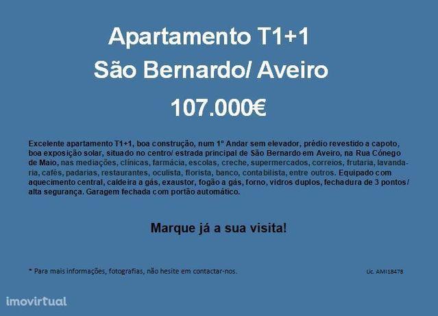 Excelente apartamento T1+1