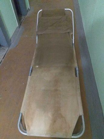 Раскладушка СССР, алюминиевый каркас