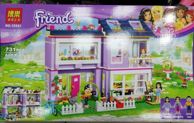 Конструктор Bela 10541 Дом Эммы Lego Friends Лего Френдс