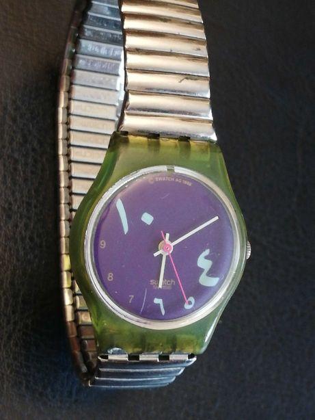 Sprzedam zegarek marki Swatch z 1988r - oryginalna bransoleta