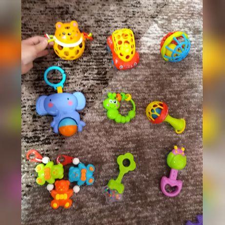 Игрушки, погремушки, подвеска, машинка, мяч