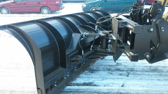 Pług odśnieżny 2600mm hydrauliczny do koparko-ładowarki
