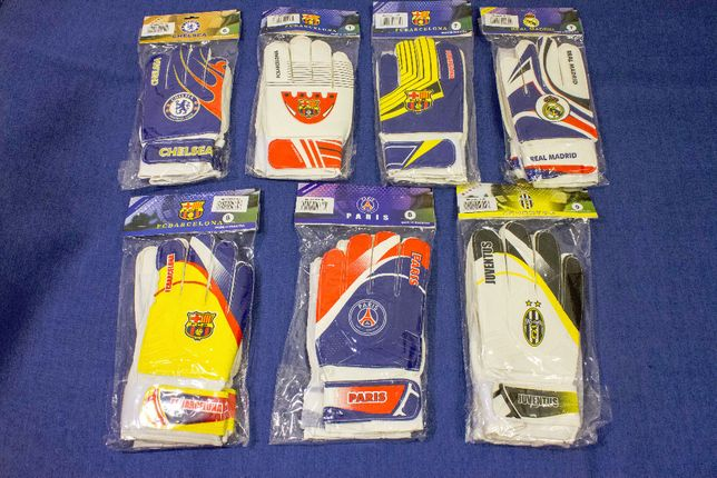 Перчатки вратарские размер 5, 6, 7, 8, 9, 10