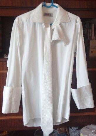 Sprzedam koszulę ślubną Pako Lorente Slim Fit