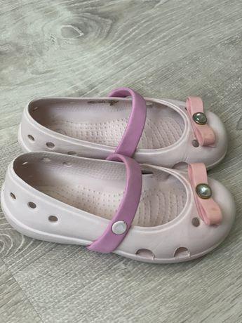 ККроксы Crocs Оригинал размер С8 стелька 14 см хорошее состояние