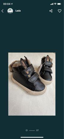 Теплые ботинки Next (высокие кеды(