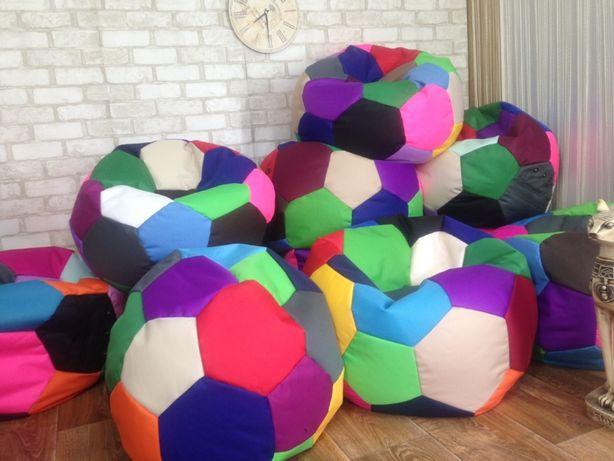Мягкая игрушка-мягкий пуф Мяч! Кресло мешок Подушка Бескаркасный диван