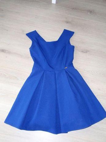 chabrowa sukienka firmy A&A rozmiar 36