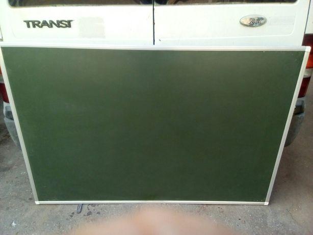 Дошка магнітна зелена під крейду
