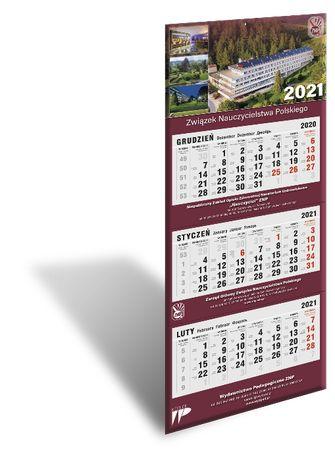Kalendarz trójdzielny 2021 - Związek Nauczycielstwa Polskiego POLECA