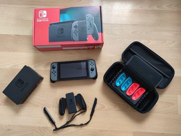Nintendo Switch v2 + Grip z etui Skull&Co