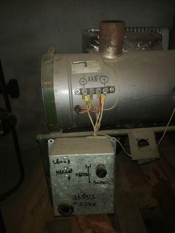 Отопительно-вентиляционная установка. (дизельная печка)