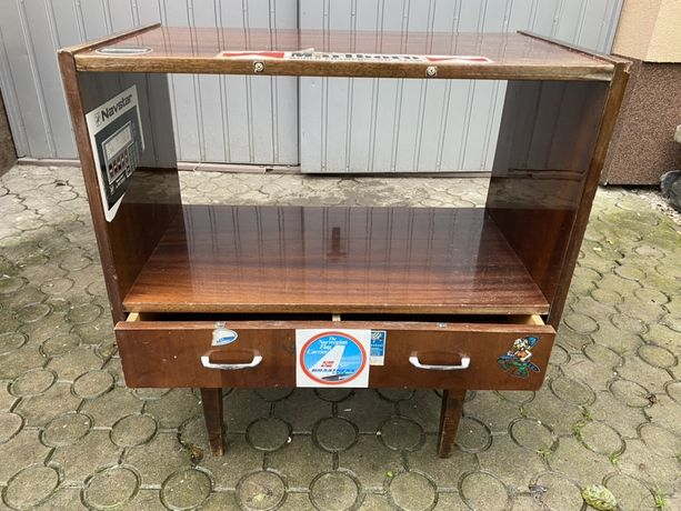 Szafka RTV stolik komoda konsola regał patyczak PRL vintage loft