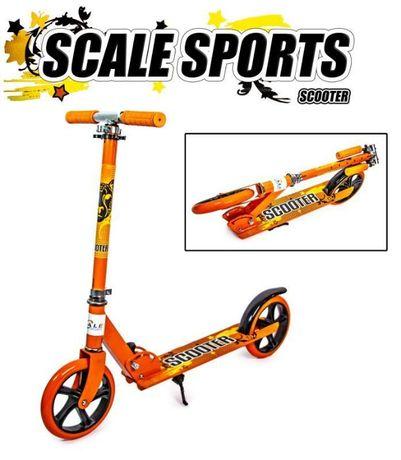 Двухколесный самокат Складной Scooter 460 Orange.АКЦИЯ! (u9Bj2)
