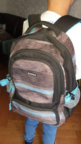 Plecak szkolny STARPAK jak nowy