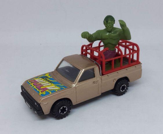 """Corgi Mazda B1600 Pickup """"The Incredible Hulk"""" Made in Gt Britan 1:36"""