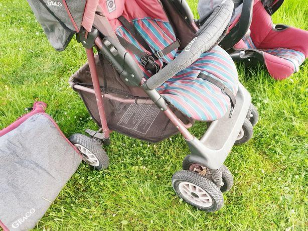 GRACO wózek i nosidełko oddam potrzebującej osobie