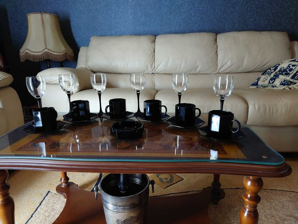 Сервиз винно-кофейно-табачный. Франция.