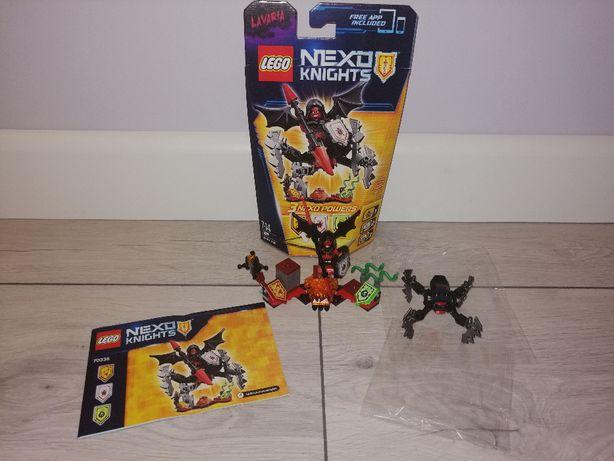 Lego Nexo Knights 70335 Lavaria ze zbroją. OPIS.