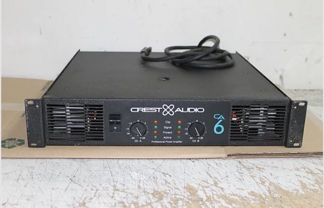 Amplificador Crest Audio CA6
