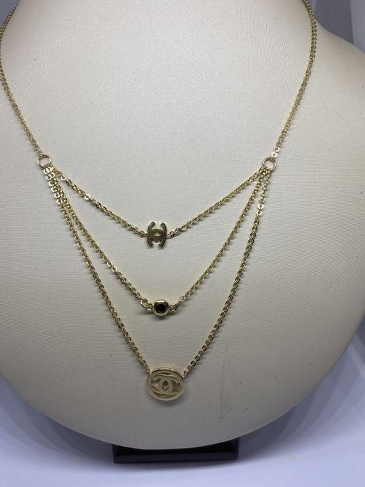 **Nowy złoty łańcuszek p.585 -7,20 gram - Lombard Stówka** Grudziądz - image 1