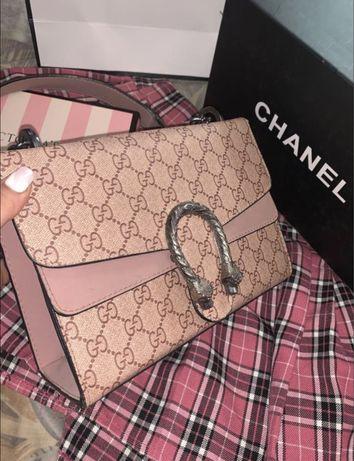 Gucci Dionysus Pink сумка гучи розовая