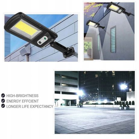 lampa solarna uliczna latarnia 160LED UCHWYT 80w