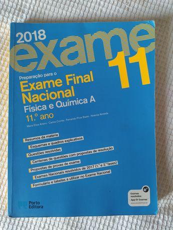 Livro de preparação para exame Física e Química A