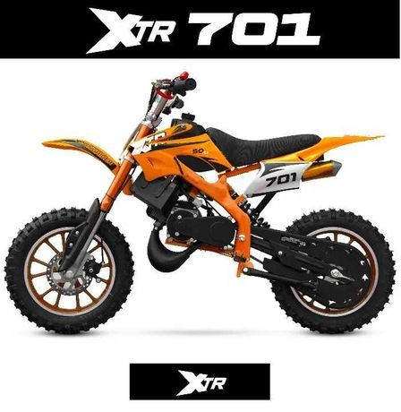 MINI CROSS XTR 701, 702 50cc 2suw koła 10 ELEKTRYCZNY 1000W dostawa