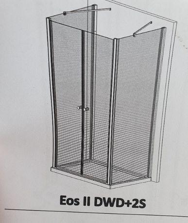 Drzwi do kabiny prysznicowej Radaway EOS II DWD+2S 90