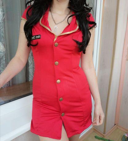 Платье костюм стюардессы игровой ролевой эротический анимация